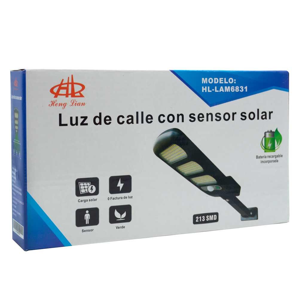 Luz de calle con sensor solar hl / 213 smd / lam6831