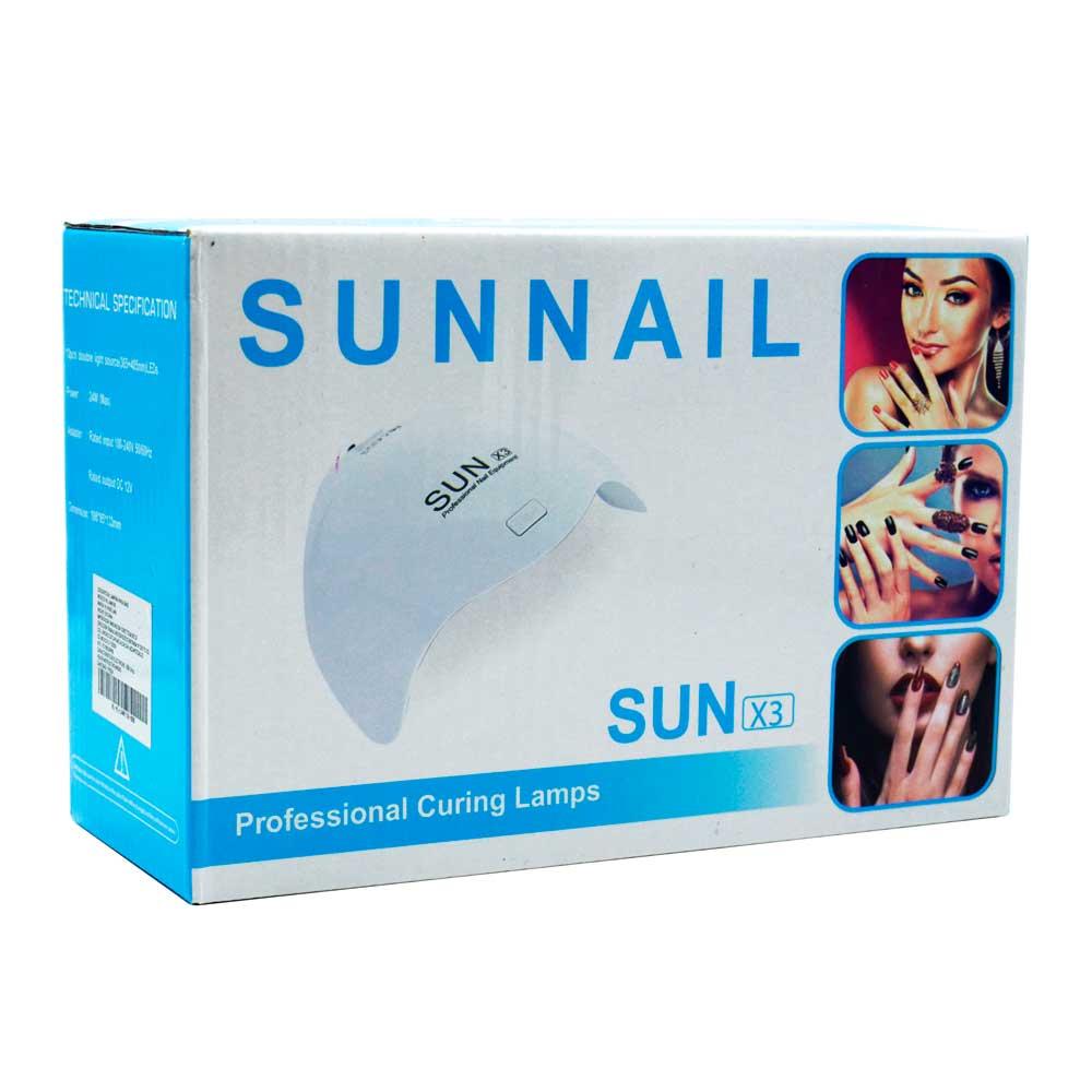 Lampara para uñas / sun nail / sun x3 / lam9108