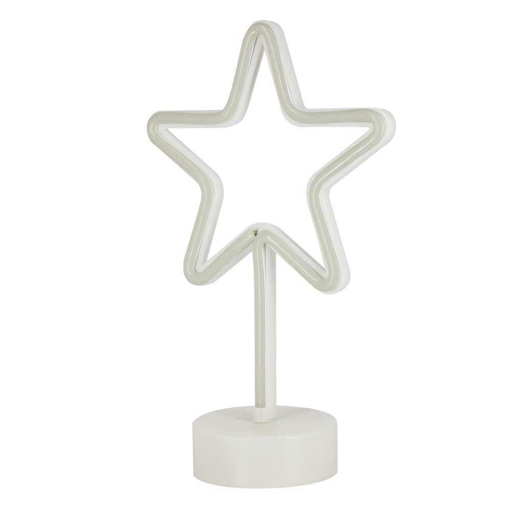Lampara led/usb en forma de estrella led-019