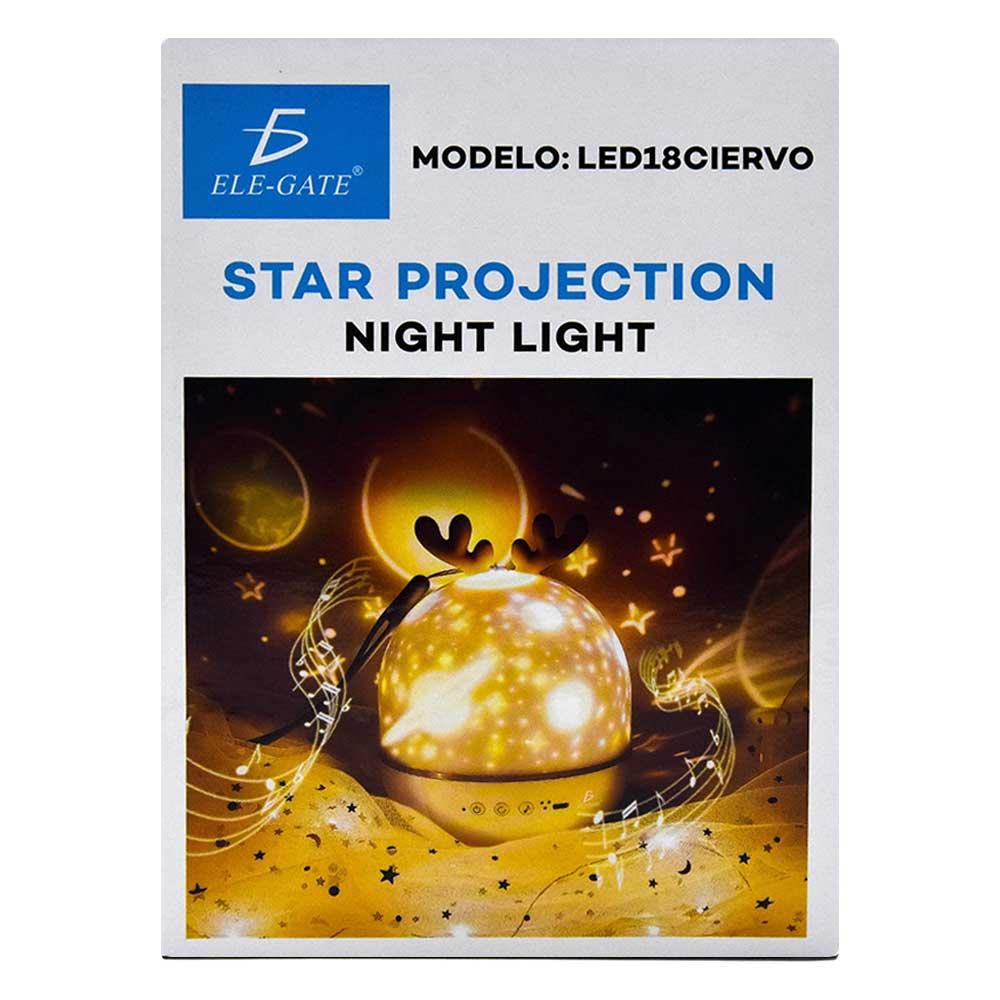 Lámpara led ciervo / star projection / night light / led.18.ciervo