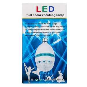 Lampara led mini party light led913