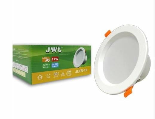 Luminario de leds para empotrar mega luz lls002r