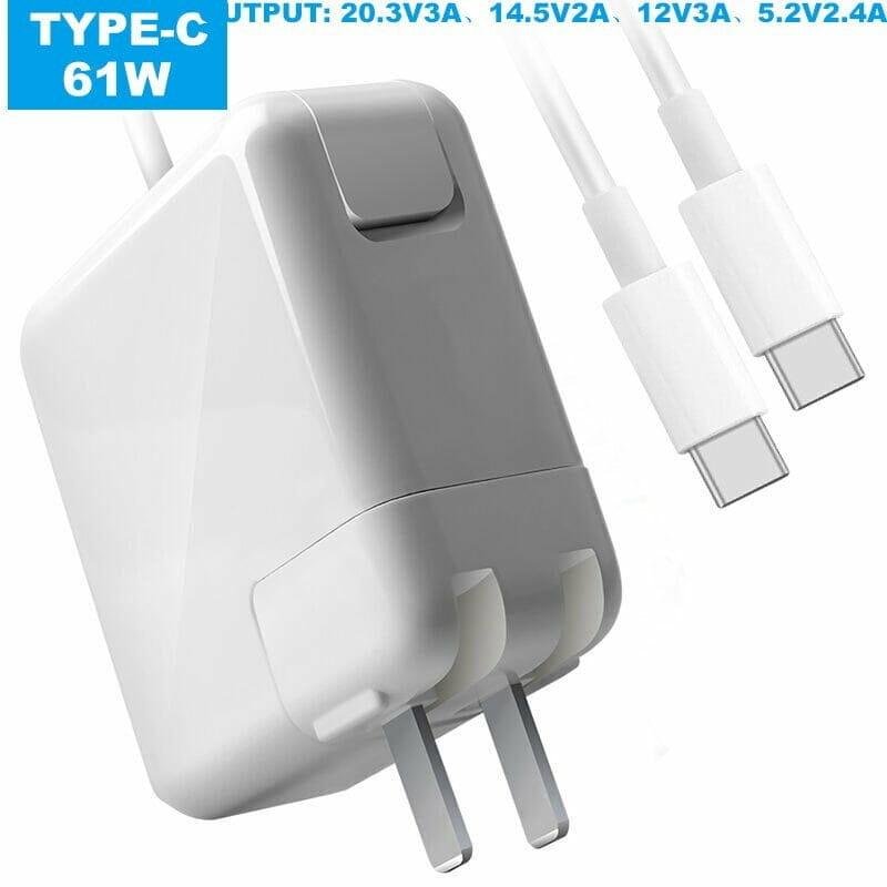 Cargador para laptop mactypec61