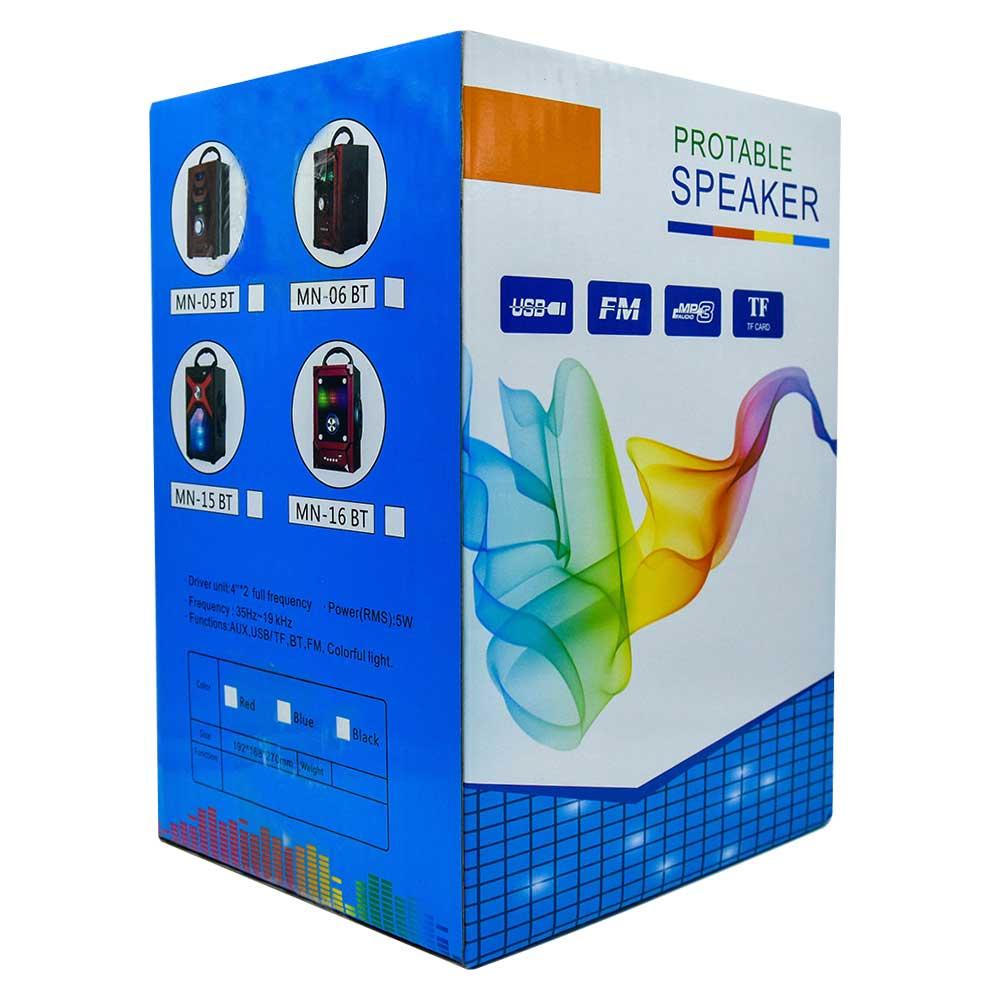 Bocina protable speaker mn-06