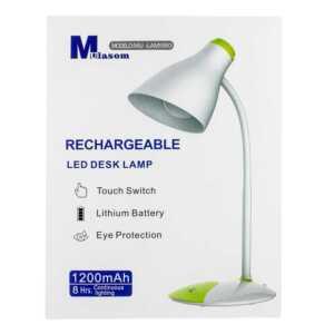 Lampara de escritorio / rechargeable led desk lamp / lam5993