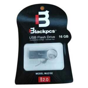 Memoria usb blackpcs 16gb plata mu2102pbl-16