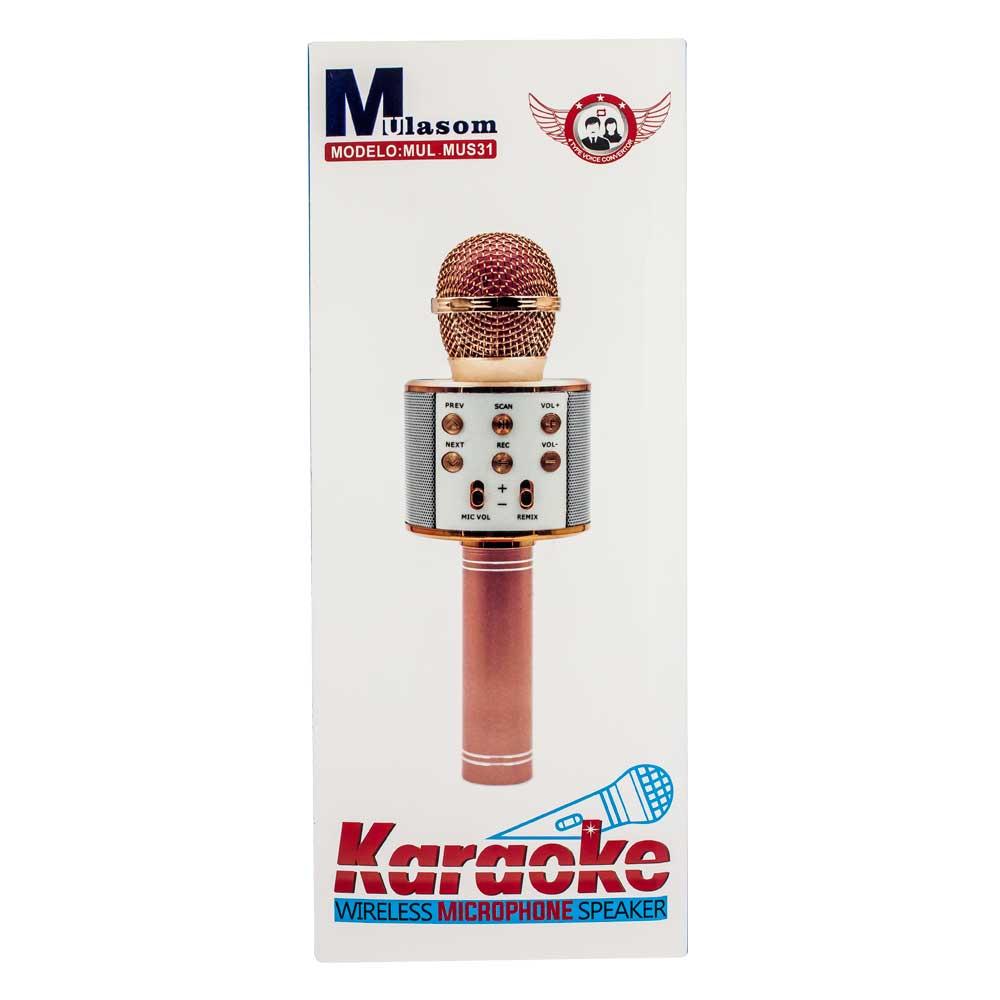 Microfono karaoke / wireless microfone / mus31