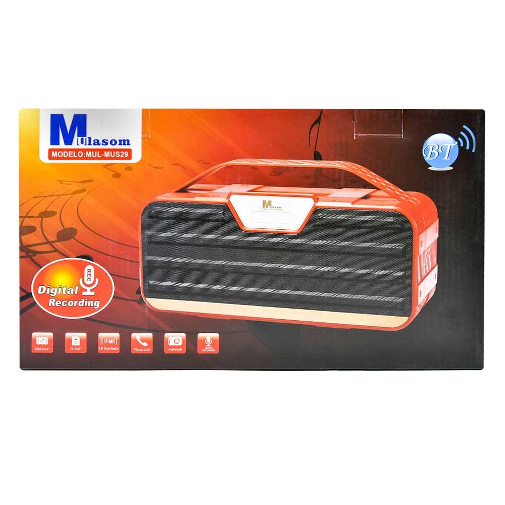 Bocina mp3 / radio fm mus29