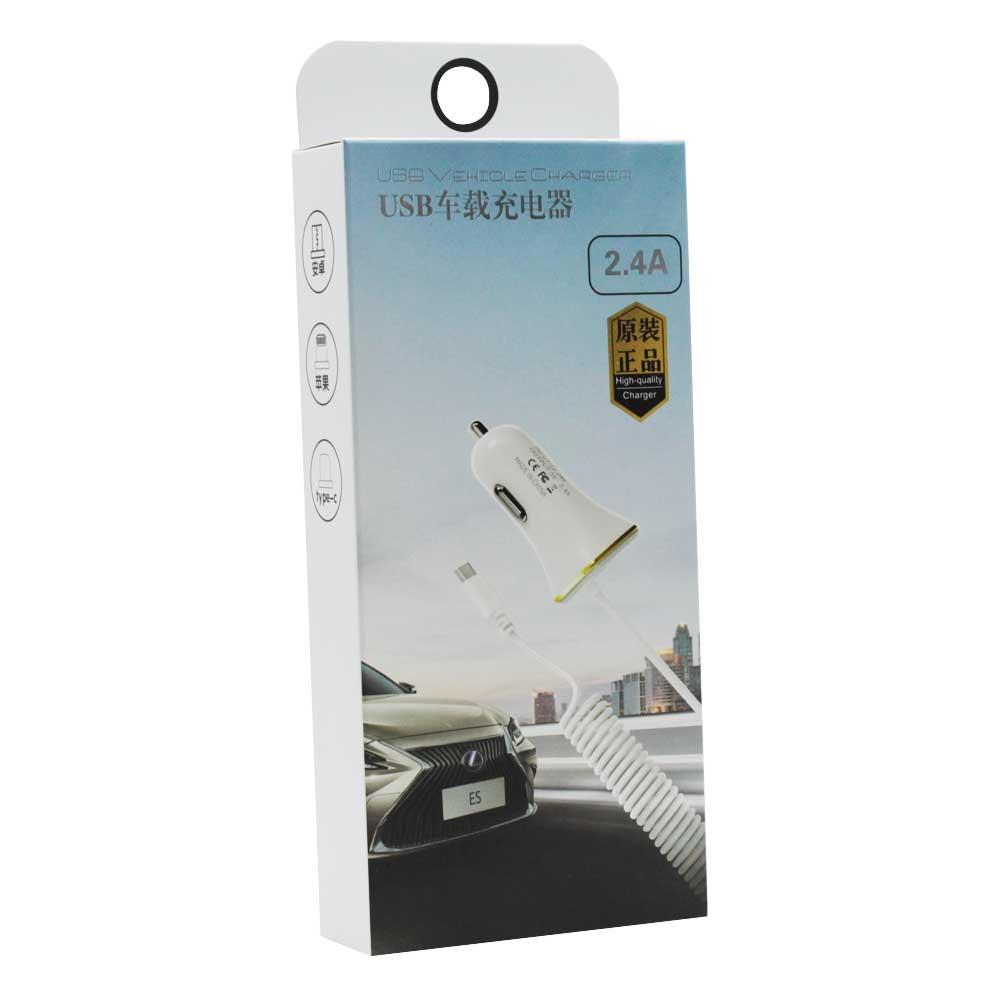 Plug cargador de coche tipo c 2.1 plug.cx-48.tipoc