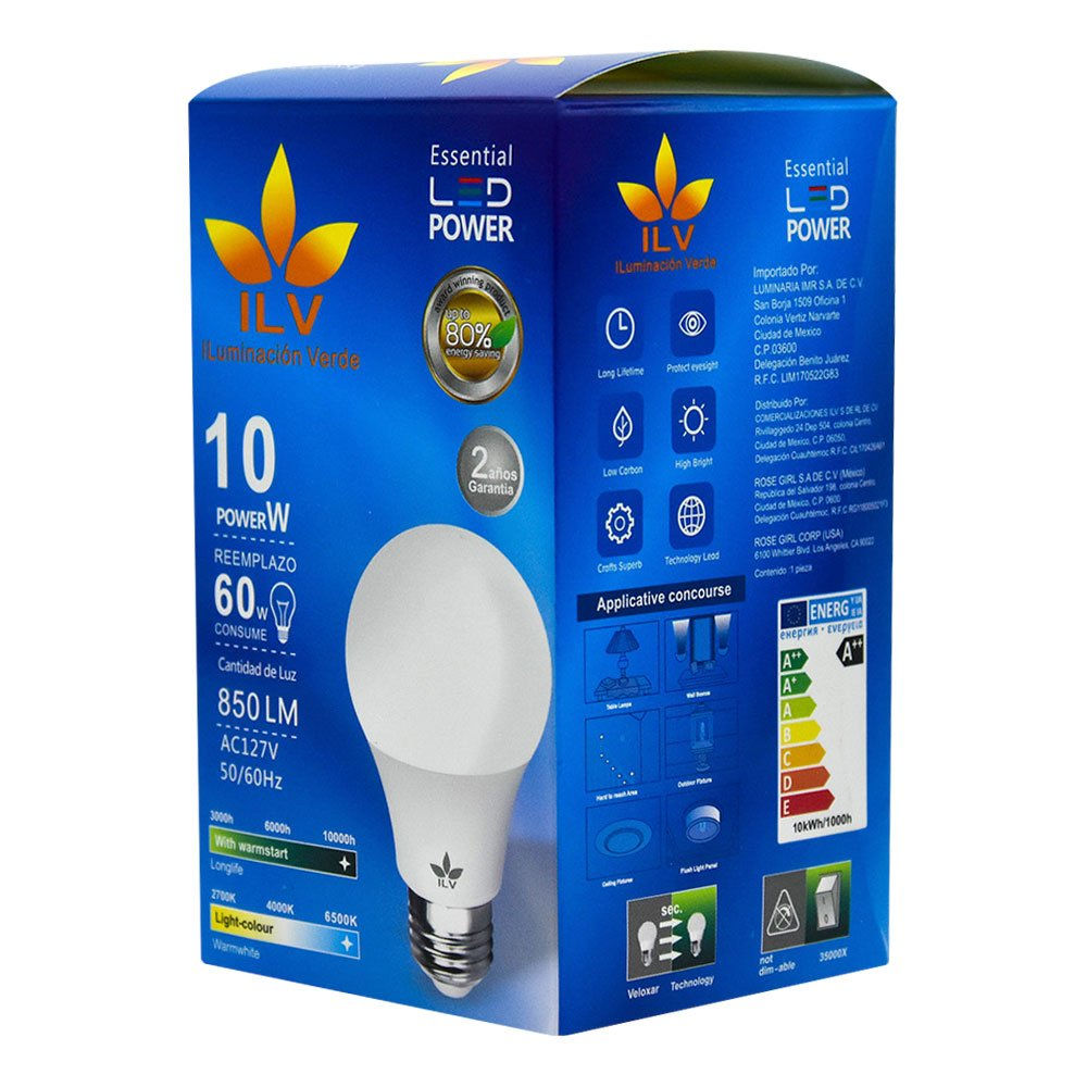 Foco led / ilv / iluminación verde / qp-010-01l
