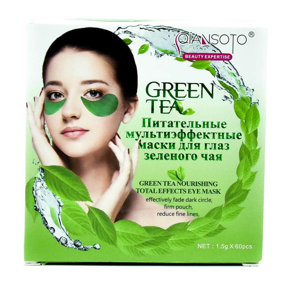 Parche para ojos te verde