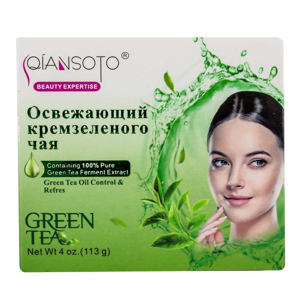 Crema de extracto de te verde qxt-820