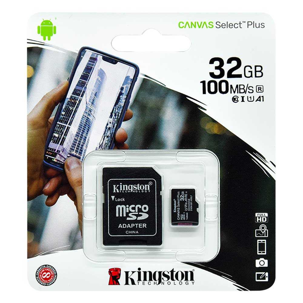 Micro sd kingston de 32gb sdcs2.32