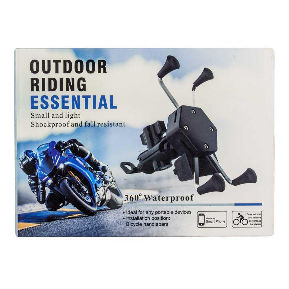 Soporte para moto outdoor riding essential sh-3018
