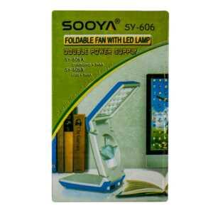 Lampara con ventilador sooya sy-606