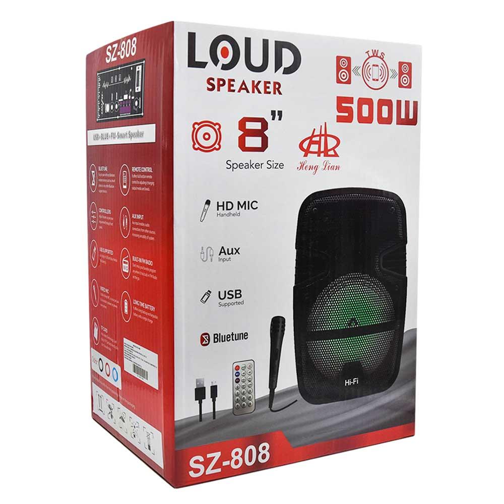 "Bocina loud speaker 2*6.5"" sz-6565"