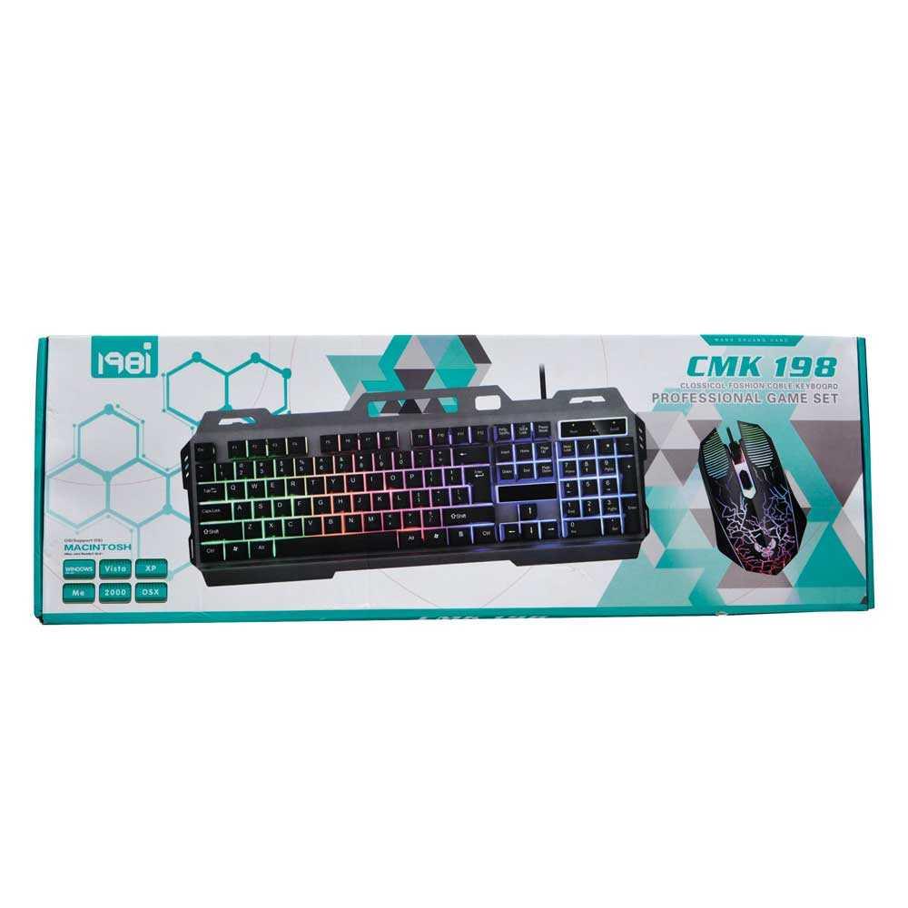 Teclado gamer de colores tec-cmk198