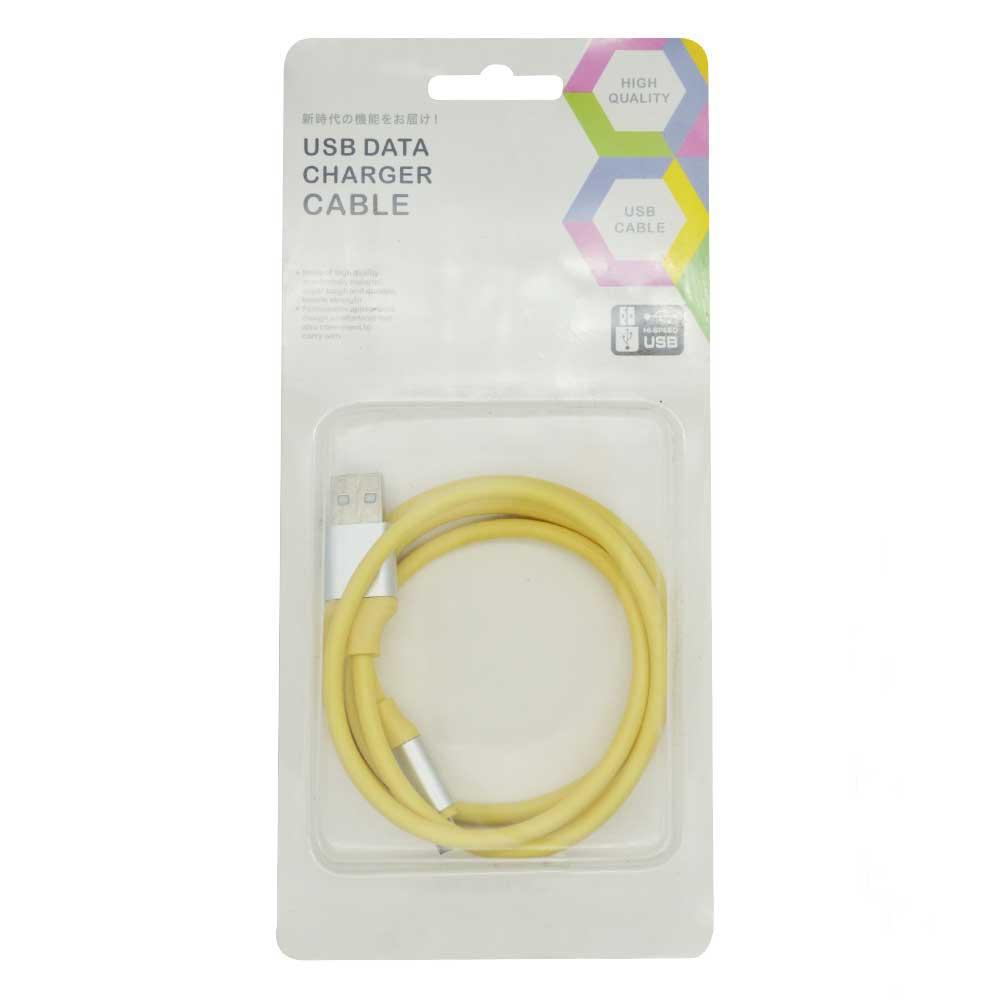 Cable v8 macaron 1m data plastic usb.data.plastic.v8