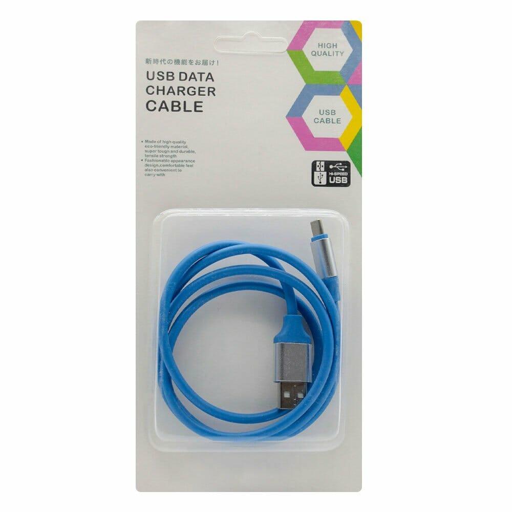 Cable tipo c macaron 1m data plastic usb.data.plastic.c