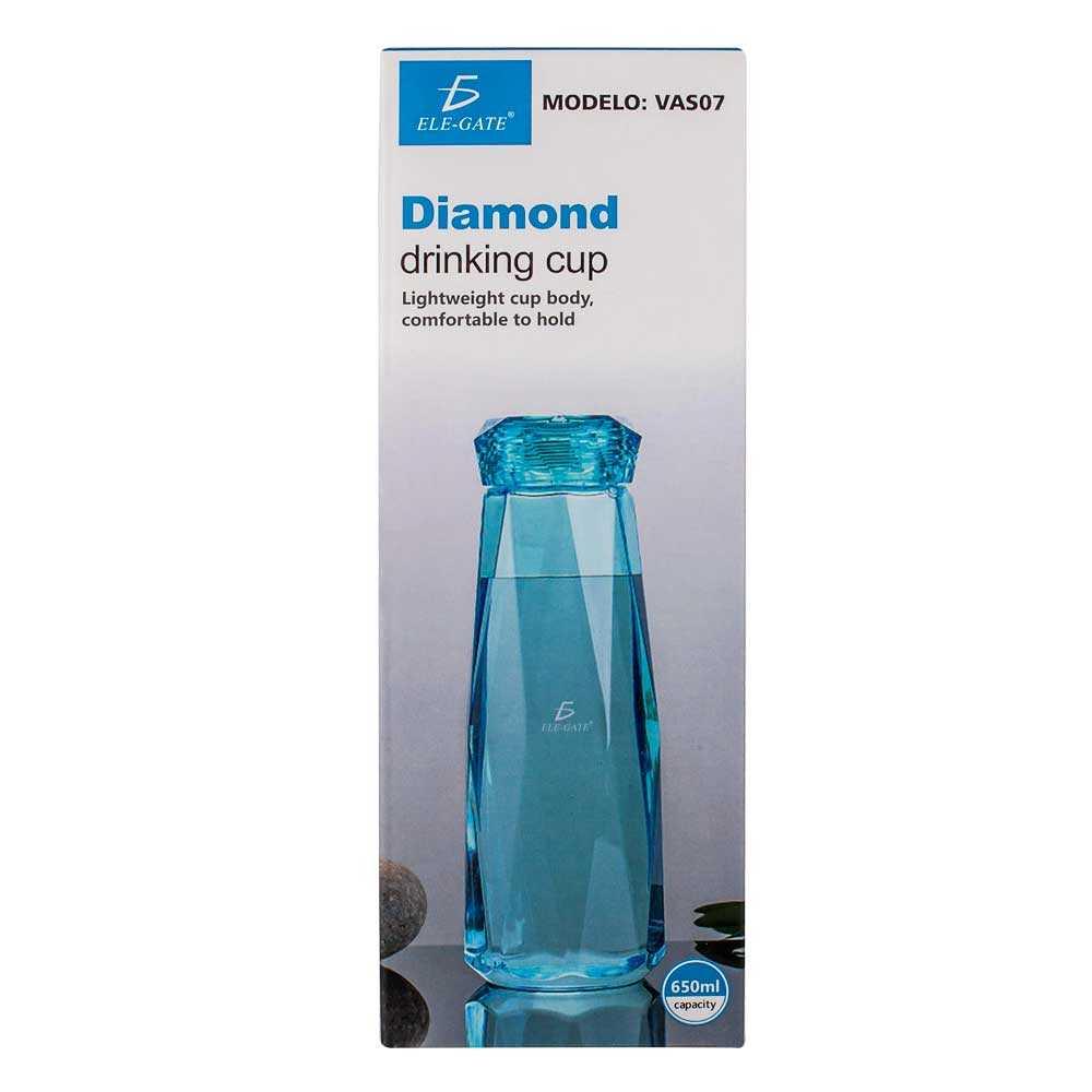 Vaso de colores diamond drinking cup vas.07