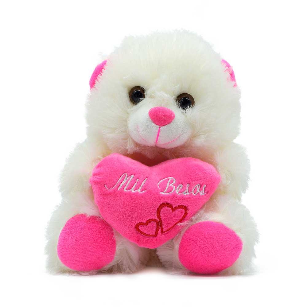 Peluche oso corazon w81