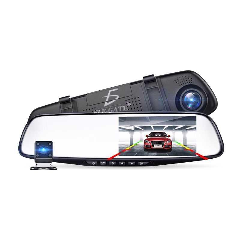 Camara para retrovisor de automovil frente y trasera web33 ele gate