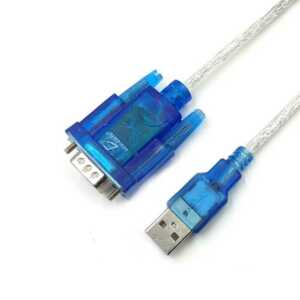 Cable wi29 adaptador rs232 serial dv9 macho a usb ele gate