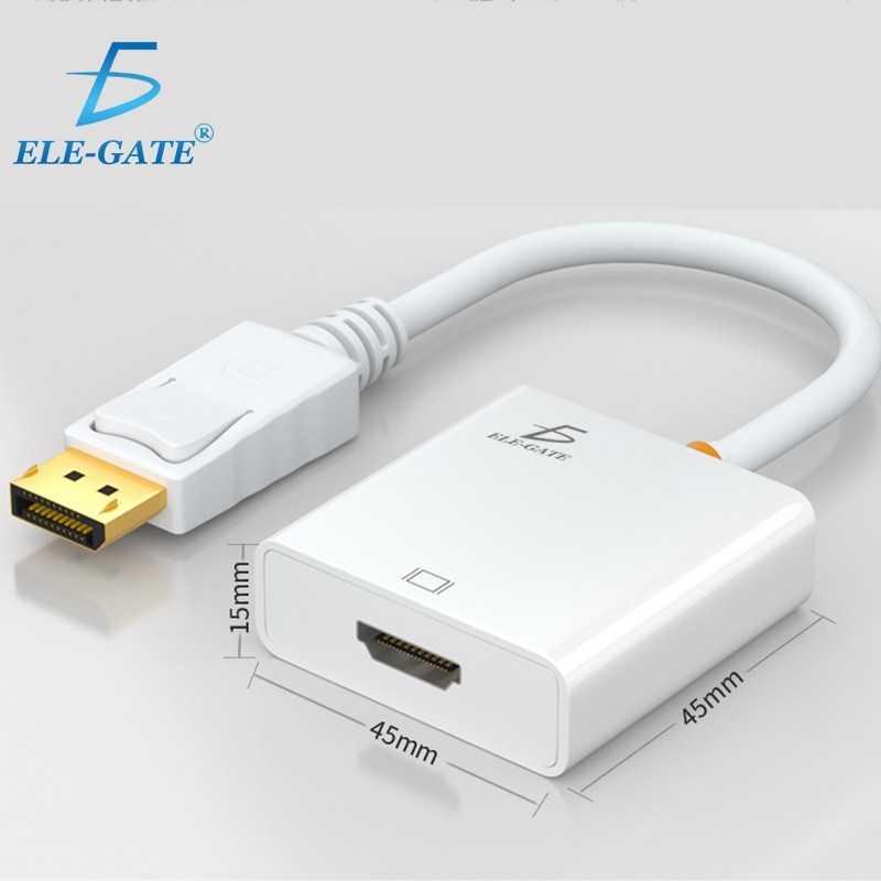 Cable wi69 adaptador convertidor display port a hdmi ele gate