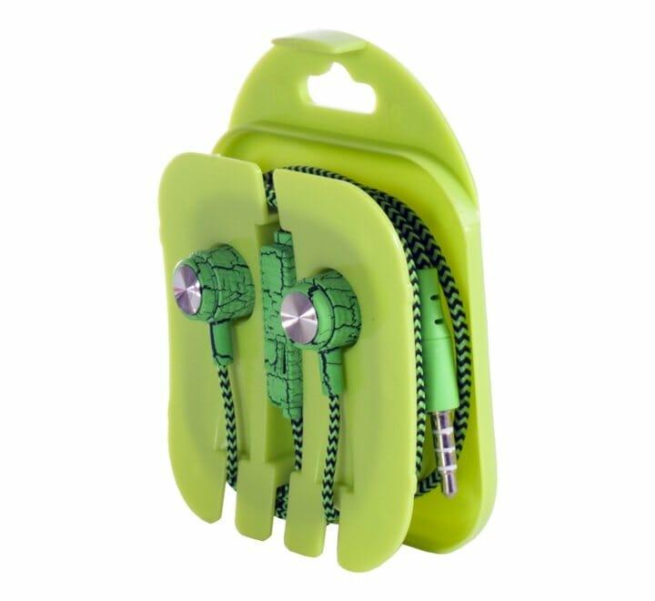 Audífonos manos libres estilo agujeta con diseño craquelado xh-a023