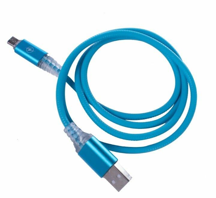 Cable v8 tipo agujeta plástica con luz led xhv8-1709