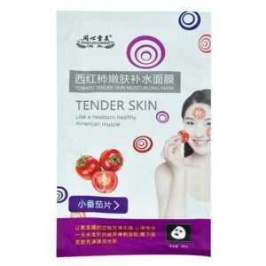 Mascarilla hidratante para piel de tomate xm767