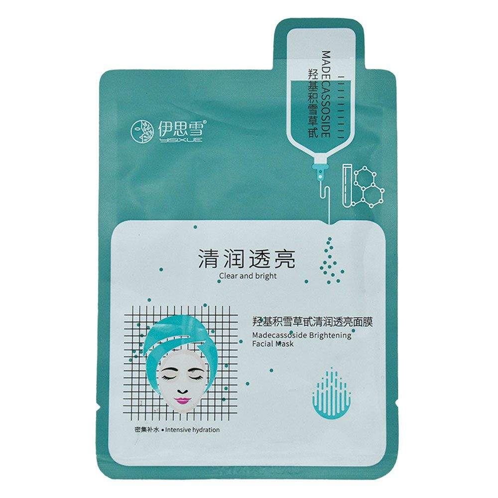 Mascarilla facial / madecassoside brightening facial mask y0520