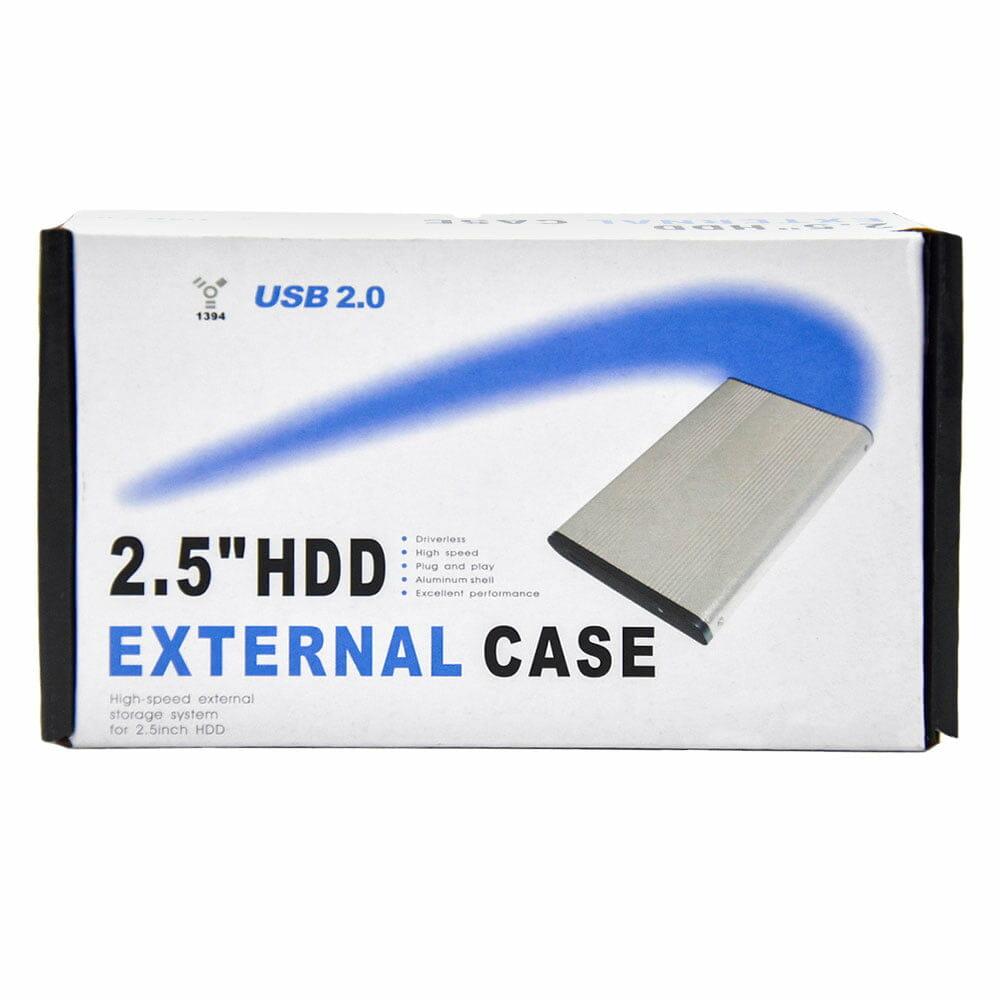 "Case para disco duro 2.5"""