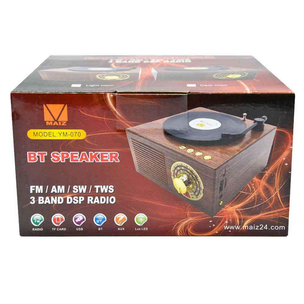 Radio bt speaker fm/am/sw/tws ym-070