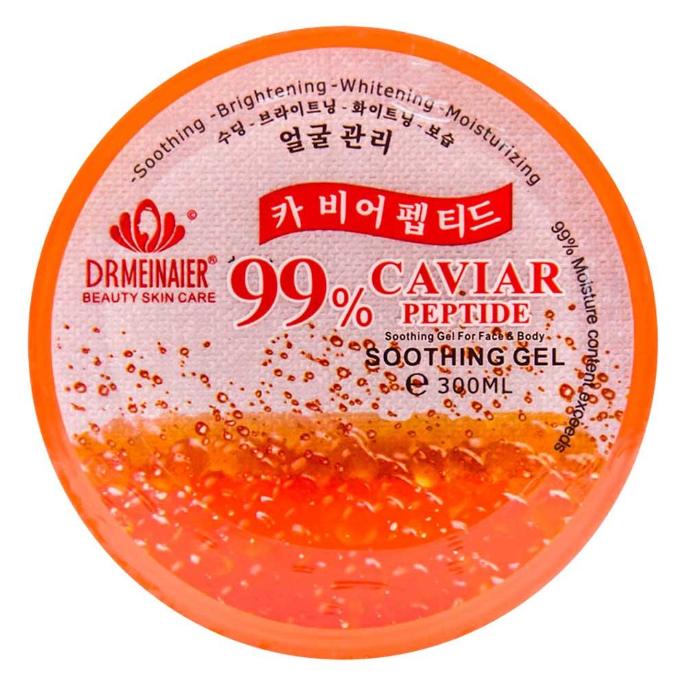 Gel facial de caviar yn-8 maquillaje