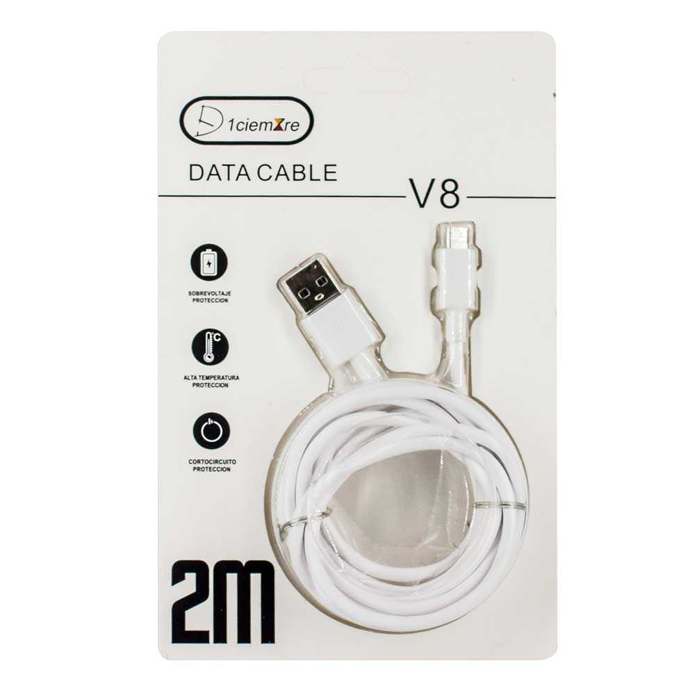 Cable v8 data cable 2m ysm-12