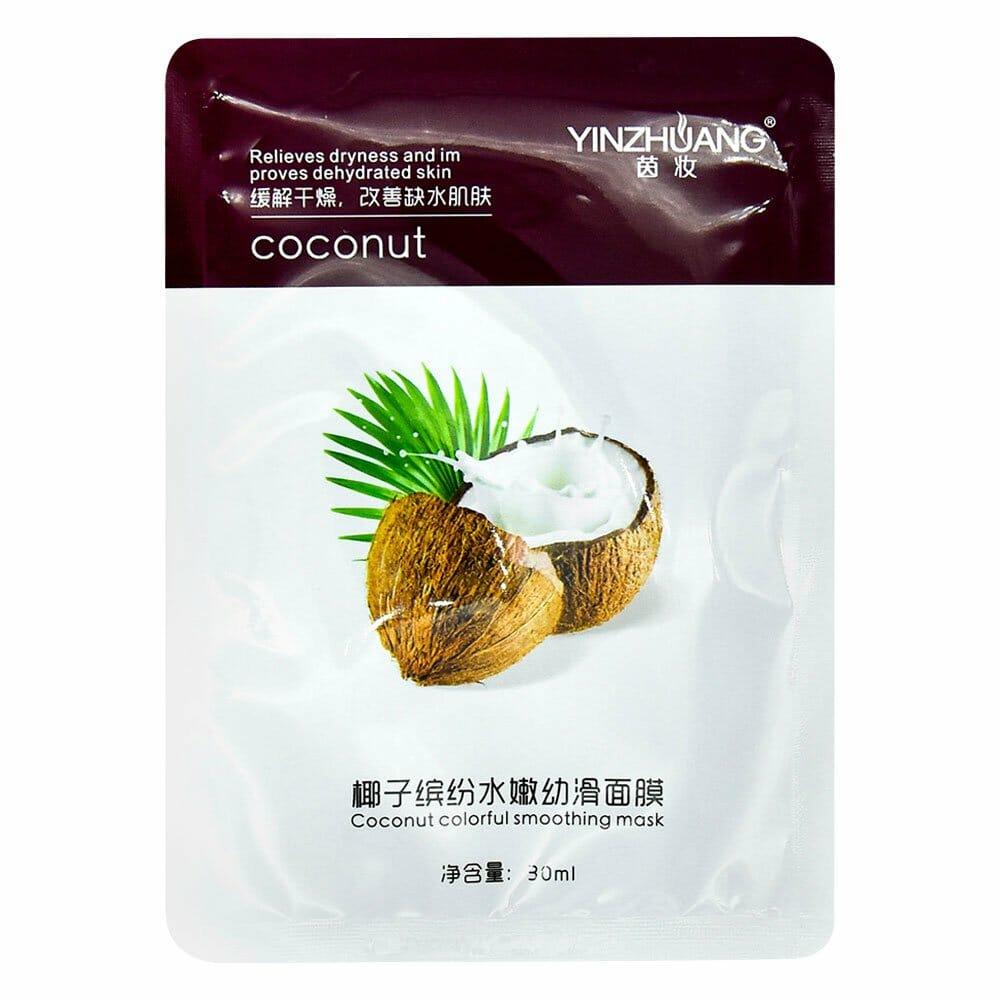 Mascarilla hidratante de coco yz0928 maquillaje