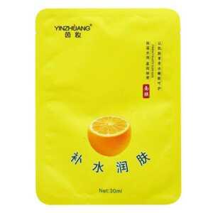 Mascarilla facial hidratante de naranja yz1117