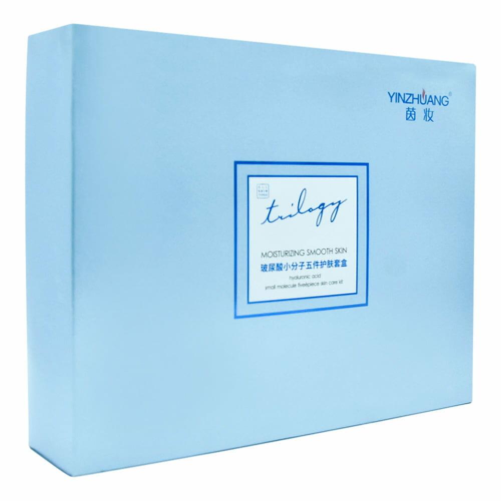 Kit facial acido hialuronico moisturizing smooth skin yz4705-h maquilaje