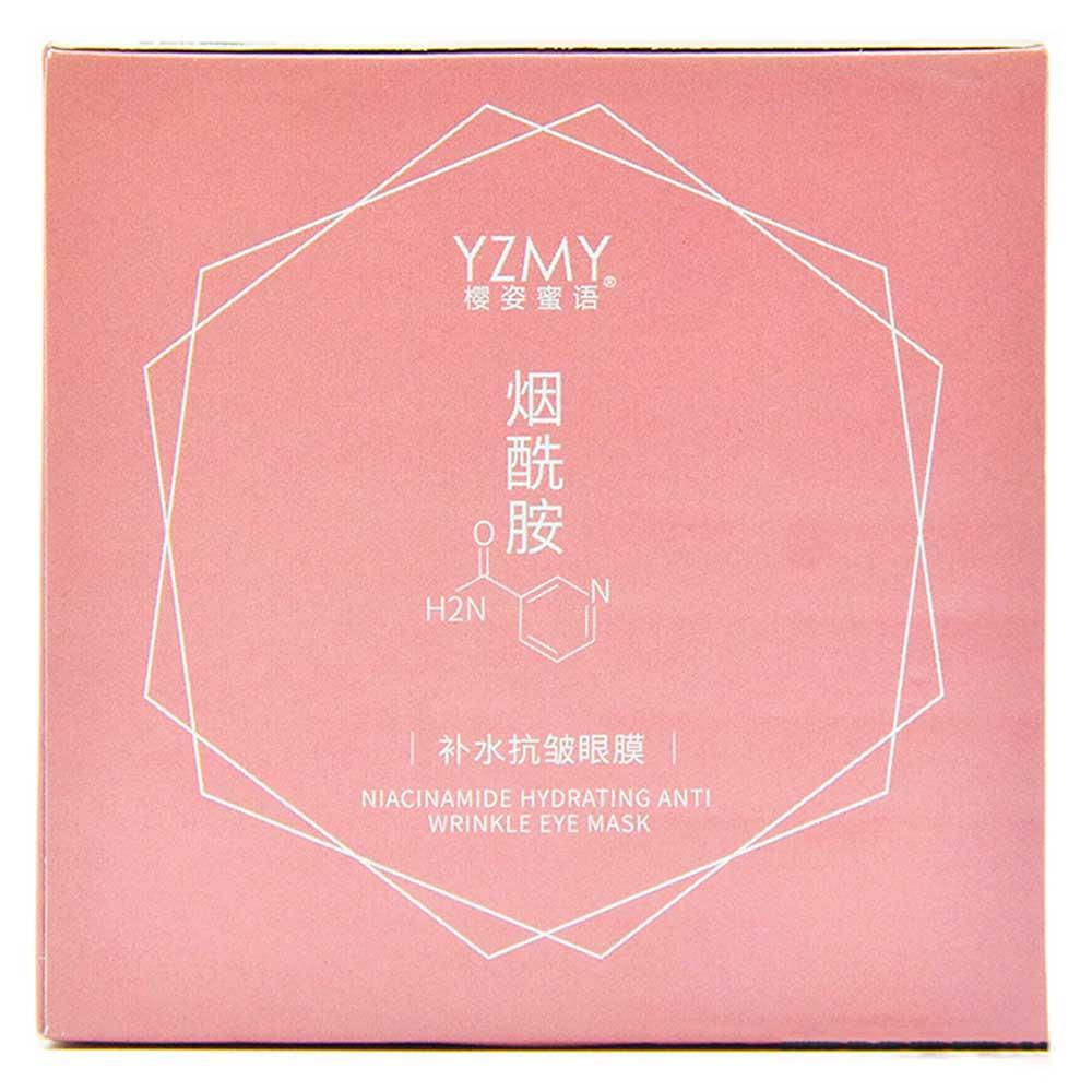 Parche de ojos anti-arrugas yzmy rosa niacinamida hidratante yzmy-9195 maquillaje