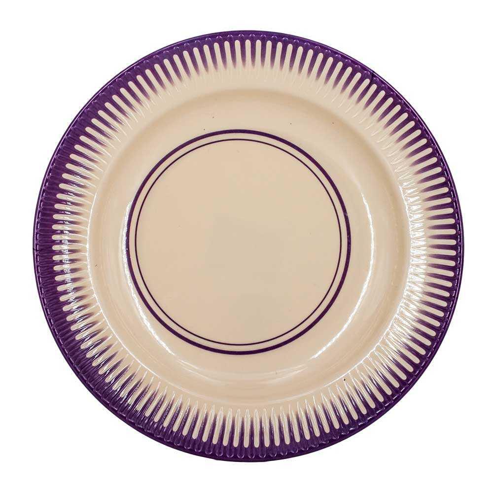 1pz plato con decorado alrrededor zc-0246