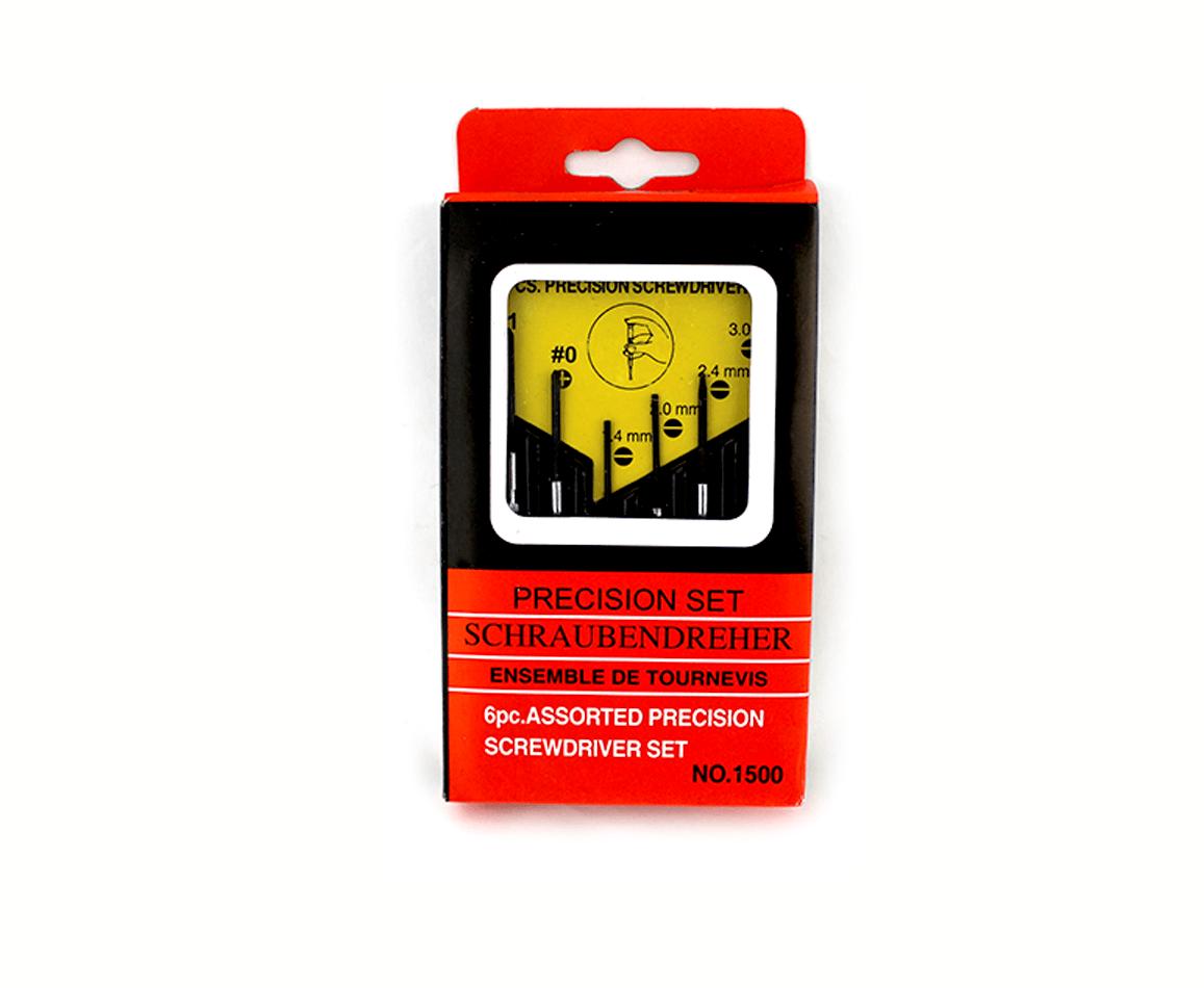 Paquete c/6pz de desarmadores de presicion zf-0056