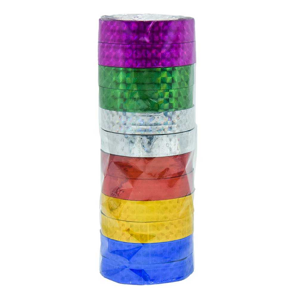 Paquete c/12pz de cinta metalica 1.2cms x 30mts zp-0054