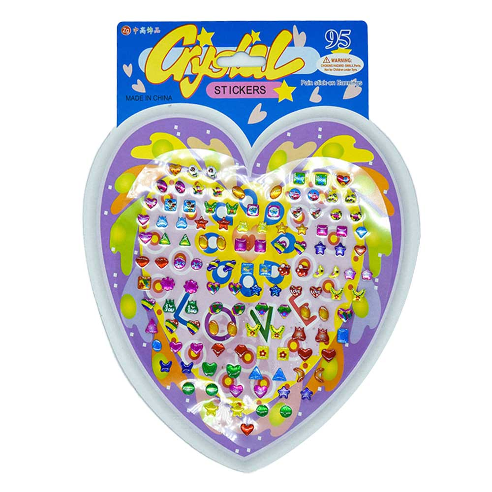 1pz sticker decorativo zp-0142