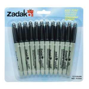 Paquete c/12pz marcador permanente zp-0405
