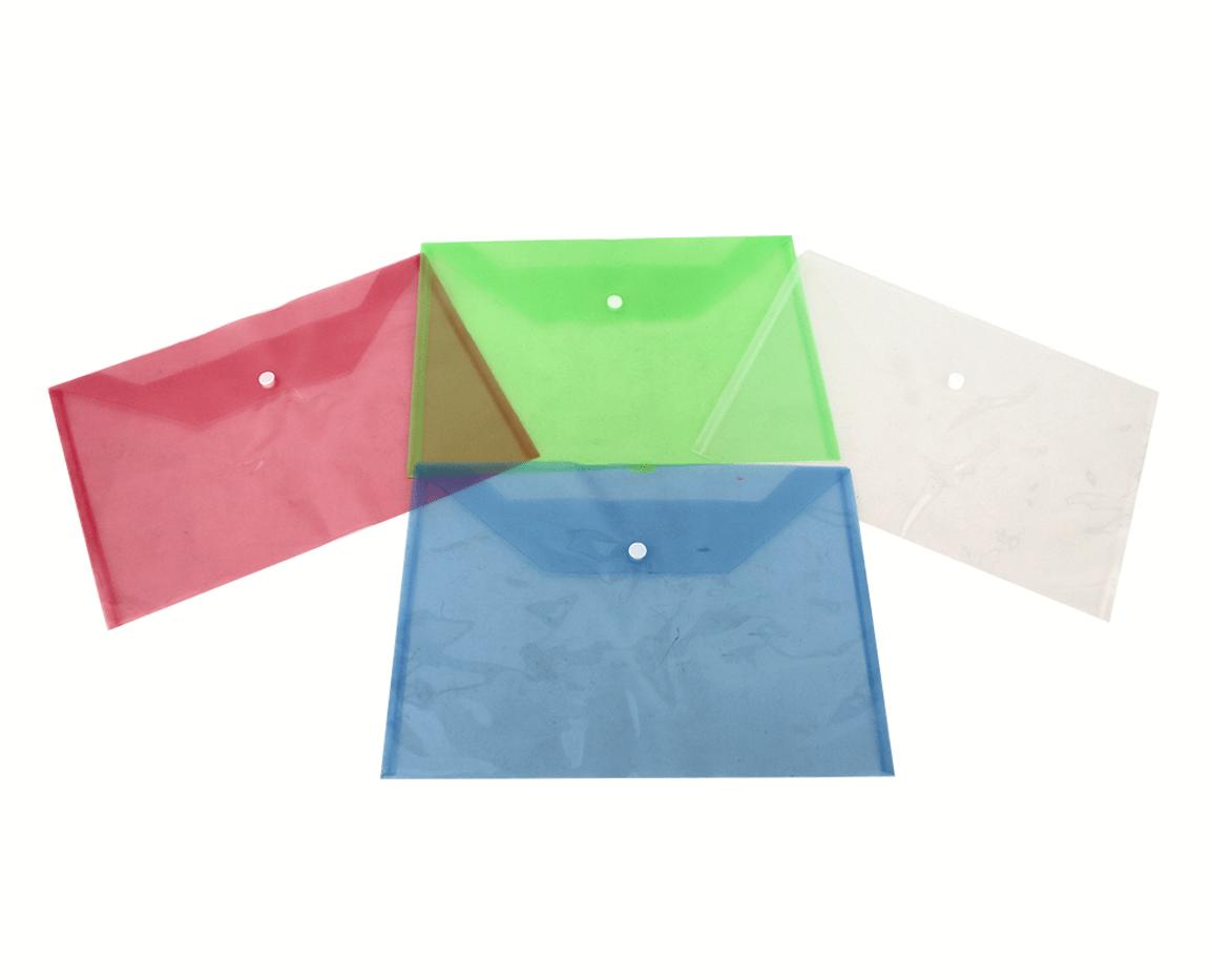 Portadumentos plastico 32x23.5 cm. con 12 pzs. zp-0510 zadako