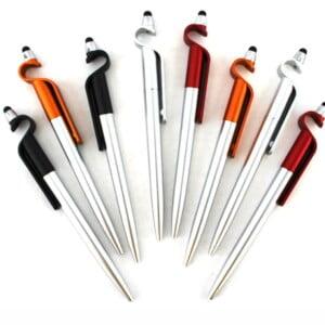 Paquete de plumas touch porta celular. con 12 pzs. zp-0549