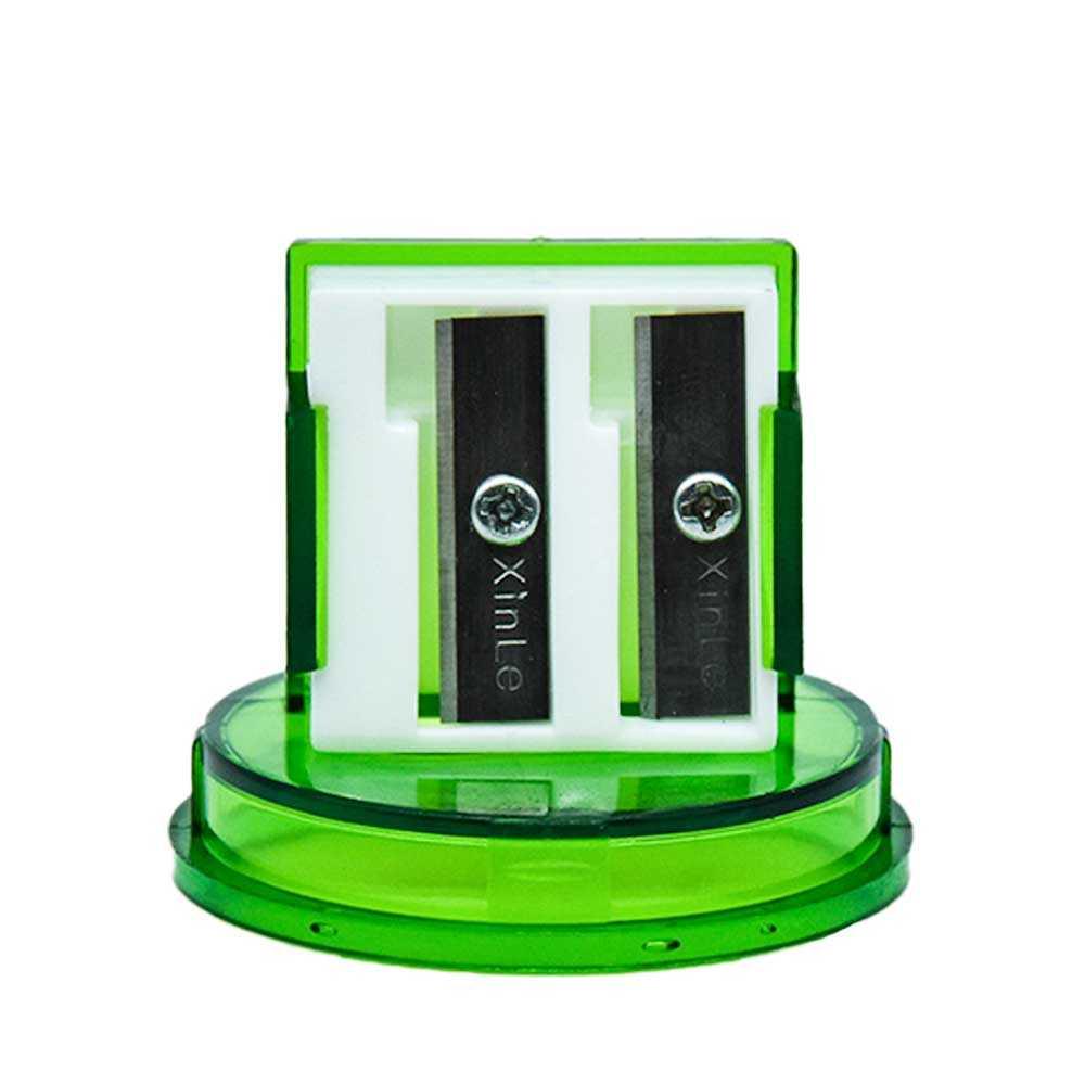 Sacapuntas con contenedor de colores 1pz zp-0600