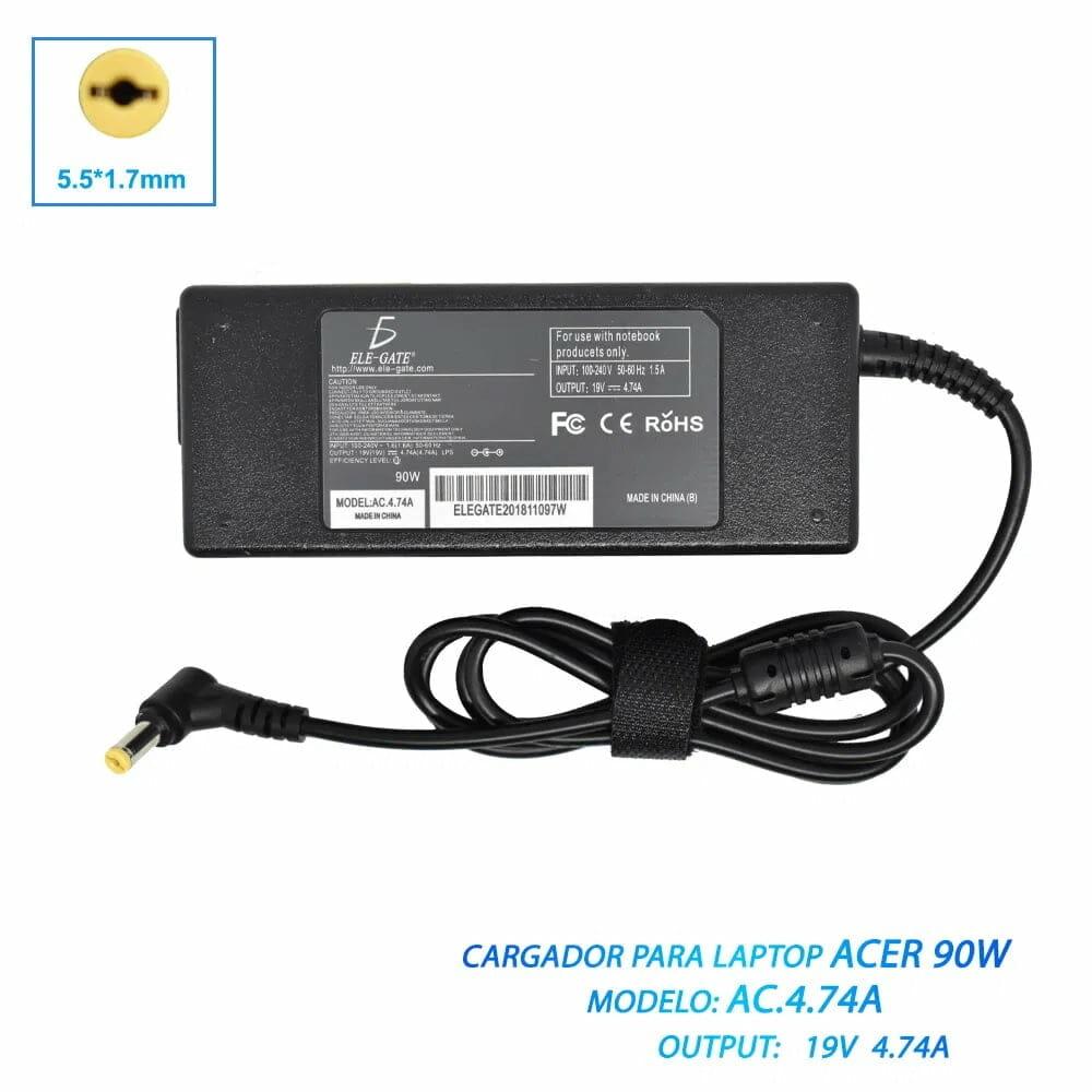 Cargador para laptop ac47 / ac.4.7.4a