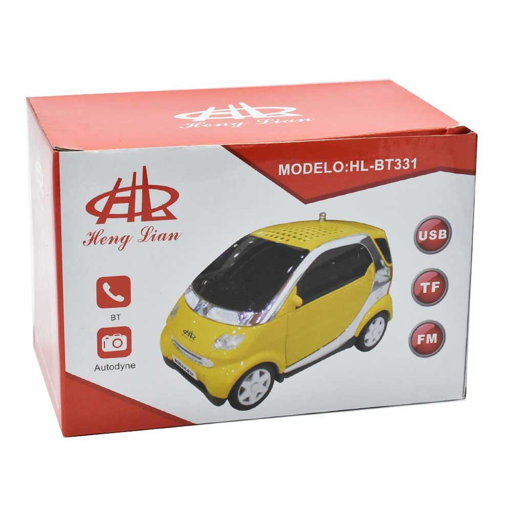 Bocina con bluetooth usb y entrada a audifonos en carro hl bt331